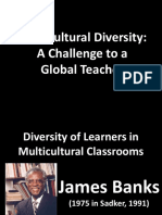 Multicultural Diversity a Challenge to a Global Teacher