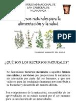 Recursos Naturales Alimentacion y Salud II