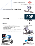 Thermal Mass Flow Meter Catalog-New-min
