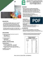 General Catalog Gas Meters