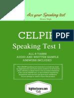 CELPIP Test Speaking