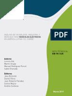 Análisis de Tecnología Industria y Mercado Para Vehículos Eléctricos en América Latina y El Caribe