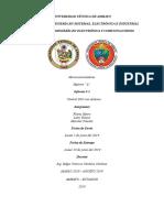 informe 2 control DIO con arduino León Y, Morales P, Flores H.docx