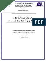 Historia programacion visual