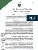 Resolucion Directoral Ejecutiva n 011 2019 Minedu Vmgi Pronied