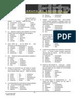 P.C. 2 +++ Razonamiento Verbal Oraciones Incompletas