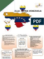 Nuestra Bella Patria Venezuela