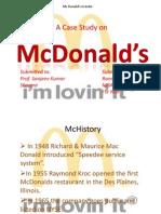 McDonald's Presentation Copy