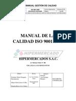 Manual de La Calidad Iso 9001 Octavo A