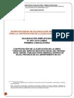 Bases Adjudicacion Simplificada 2019
