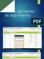 Entorno de Trabajo de App Inventor