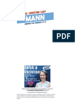 Dr. Christine Eady Mann for Congress - TX-31 - Catch Christine Podcast Guest Star 622