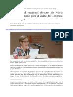 Andruetto en Congreso de La Lengua 30-03-19