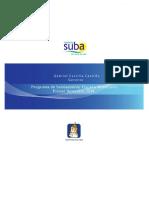 Analisis de Seguimiento Al Programa de Saneamiento Fiscal y Financiero Semestre 2014