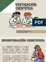 Diapositivas La  Investigación Científica