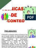 TECNICAS DE CONTEO