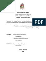 Niveles de Ruido Ocupacional y Desempeño Audiológico en Estu