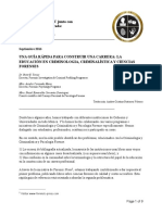 Guía rápida para construir una carrera como forense La educación en Criminología, Criminalística y Ciencias Forenses.pdf