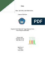 Iskandar Setiadi XII.ipa 2-19 Laporan Praktikum Kimia Korosi Besi Sel Volta Elektrolisis