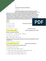 Ecuaciones Taller 2