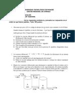 Parcial 3 Ecuaciones Diferenciales -UTP