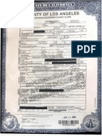 Michael Jackson Death Certificate updated