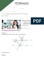 1.2.1 Angles and Lines II, PT3 Practice - PT3 Mathematics