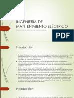 Mantenimiento eléctrico de transformadores