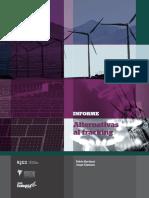 Informe alternativo fracking