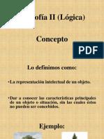 filosofía ii (lógica)