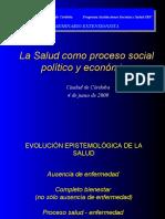 La Salud Como Proceso Social