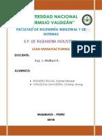 Confecciones REWAL Lean Manufacturing