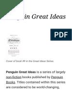 Penguin Great Ideas