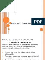 PROCESO COMUNICACIONAL