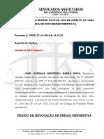 Revogação de Prisão Jose Gonzaga