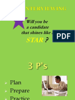 Interviewing Using the STAR Method