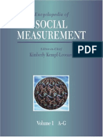 (Kempf-Leonard, 2004). The encyclopedia of social measurement. P-Z.pdf
