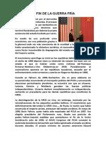 EL FIN DE LA GUERRA FRÍA.docx