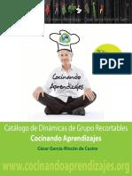 Catálogo de Dinámicas de Grupo Recortables