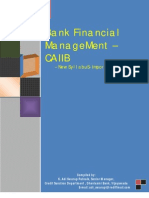 Bank Financial Management - CAIIB New Syllubus