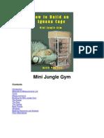 Mini Jungle Gym Plans