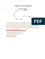 acido araquidonico