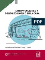 Faltas, Contravenciones y Delito Ecológico en La Caba