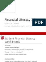 Financial Literacy 101