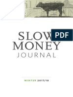 Slow Money  Journal