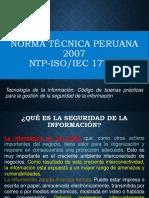 Norma Peruana 17799