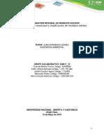 Anexos - Guía de actividades y rúbrica de evaluación - Fase 4 - Gestión de residuos peligrosos
