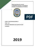 Examen de telecomunicaciones IV