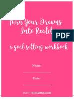 Goal Setting Workbook 1