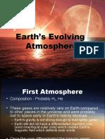 Earth's Evolving Atmosphere